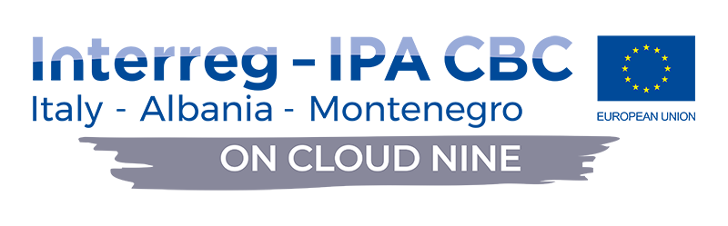 ON CLOUD NINE footer logo